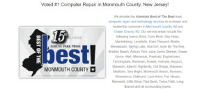 Laptop Repair Middletown NJ